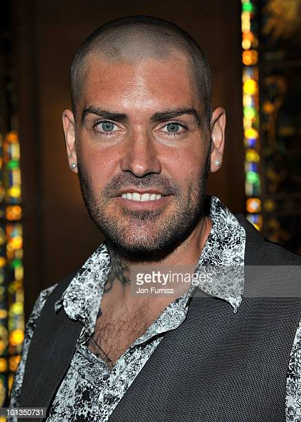 Singer Shane Lynch attends the Quintessentially Awards at Freemasons Hall on June 1 2010 in London England