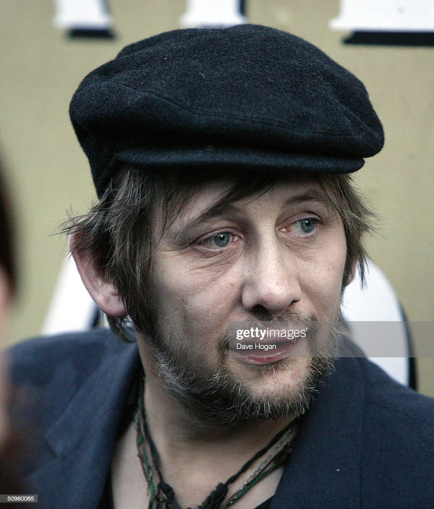 Singer Shane McGowain attends a Bob Dylan performance at The Fleadh 2004 at Finsbury Park June 20, 2004 in London, England. The Fleadh 2004 doubles as the London stop of the UK leg of Dylan's European tour.