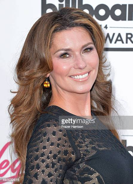 Singer Shania Twain attends the 2014 Billboard Music Awards at the MGM Grand Garden Arena on May 18 2014 in Las Vegas Nevada