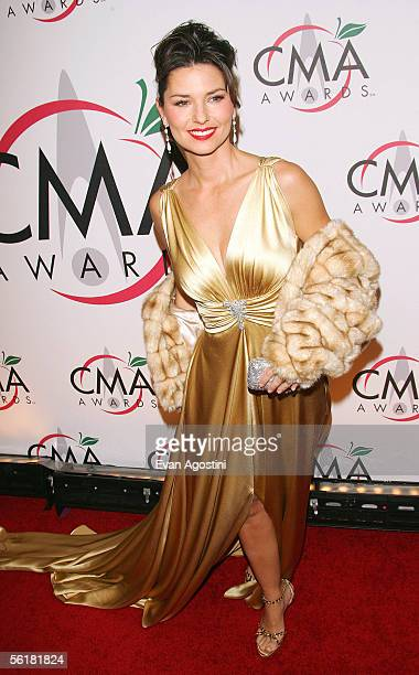 Singer Shania Twain attends the 39th Annual Country Music Association Awards at Madison Square Garden November 15 2005 in New York City