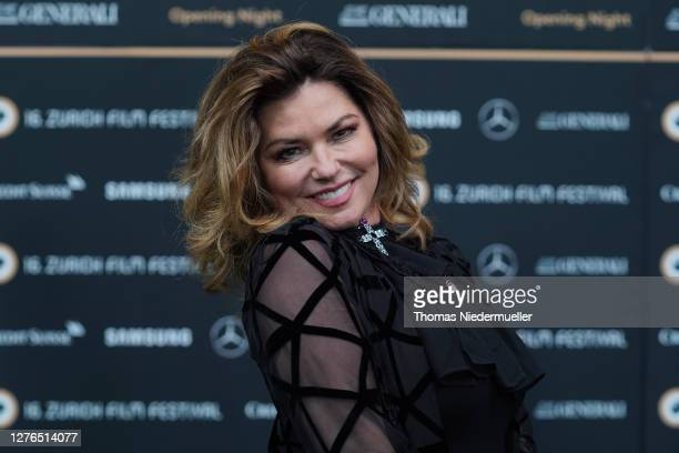 Singer Shania Twain attends the opening ceremony of the 16th Zurich Film Festival at Kino Corso on September 24, 2020 in Zurich, Switzerland. The...