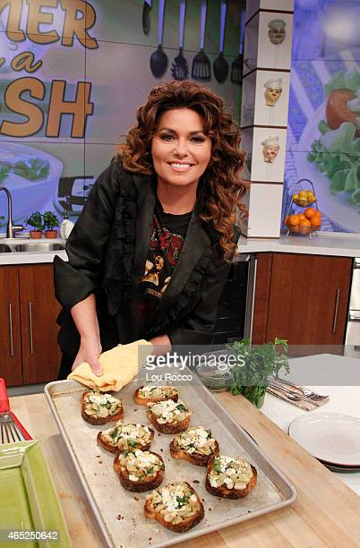 THE CHEW Singer Shania Twain is the guest today Wednesday March 4 2015 on ABC's 'The Chew' 'The Chew' airs MONDAY FRIDAY on the ABC Television Network