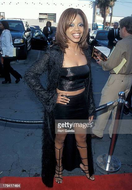 Singer Shanice attends the 13th Annual Soul Train Music Awards on March 26 1999 at the Shrine Auditorium in Los Angeles California