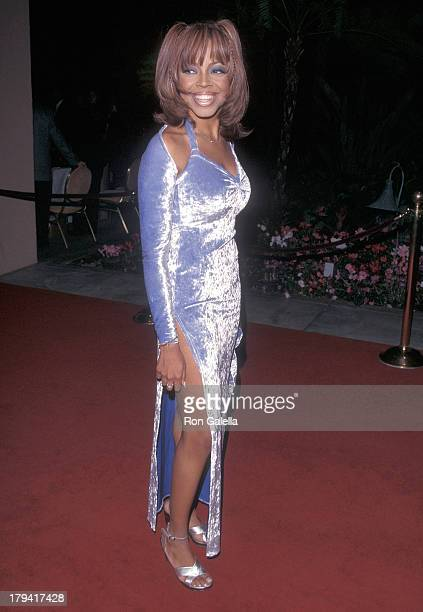 Singer Shanice attends the 41st Annual Grammy Awards PreParty Hosted by Clive Davis on February 23 1999 at the Beverly Hills Hotel in Beverly Hills...