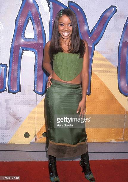 Singer Shanice attends the Fifth Annual Soul Train Lady of Soul Awards on September 3 1999 at the Santa Monica Civic Auditorium in Los Angeles...