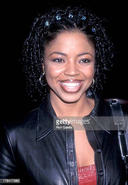 Singer Shanice attends the Light It Up Hollywood Premiere on November 4 1999 at the Cinerama Dome Theatre in Hollywood California