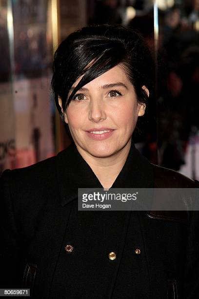 Singer Sharleen Spiteri arrives at the UK premiere of 'Flashbacks of a Fool' at the Empire cinema Leicester Square on April 13 2008 in London England