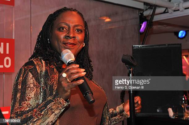 Singer Sharon Jones attends the grand opening of the UNIQLO New York 5th Avenue Global Flagship Store on October 13, 2011 in New York City.