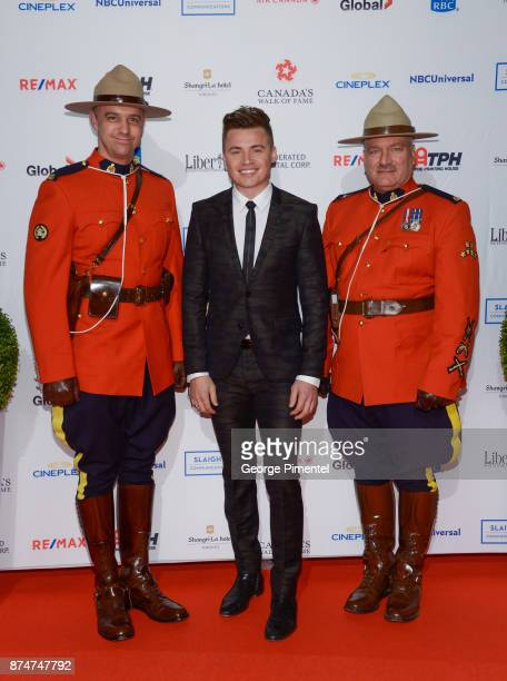 Singer Shawn Hook attends 2017 Canada's Walk of Fame at The Liberty Grand on November 15 2017 in Toronto Canada