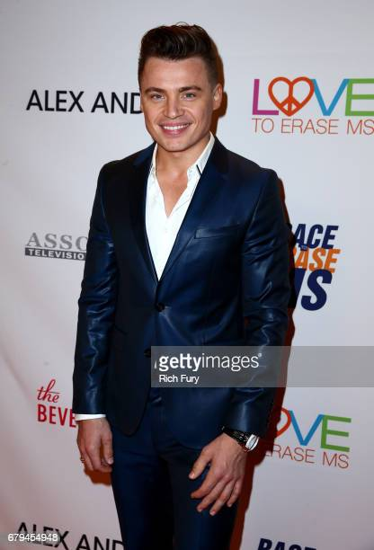 Singer Shawn Hook attends the 24th Annual Race To Erase MS Gala at The Beverly Hilton Hotel on May 5 2017 in Beverly Hills California