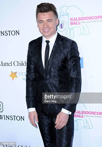 Singer Shawn Hook attends the Kaleidoscope Ball at 3LABS on May 21 2016 in Culver City California
