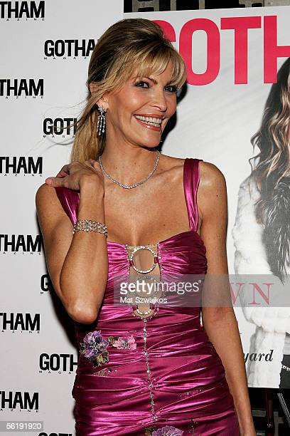 Singer Shawn King arrives at the listening party for her new CD 'In My Own Backyard' hosted by Gotham Magazine at Lotus on November 16 2005 in New...