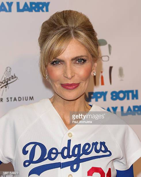 Singer Shawn King attends a surprise party for Larry King's 80th Birthday at Dodger Stadium on November 15 2013 in Los Angeles California