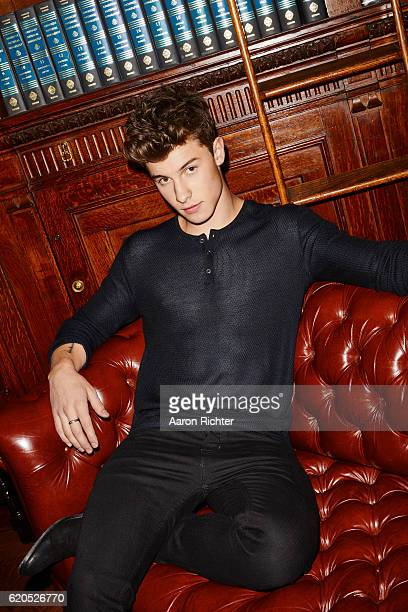 Singer Shawn Mendes is photographed for Billboard Magazine on July 8 2016 in New York City PUBLISHED IMAGE
