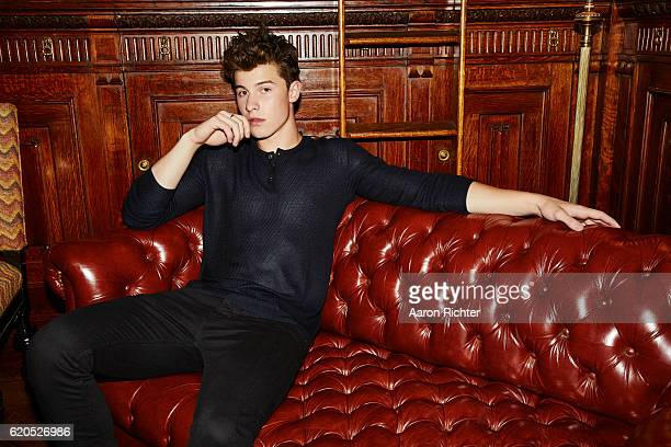 Singer Shawn Mendes is photographed for Billboard Magazine on July 8 2016 in New York City COVER IMAGE