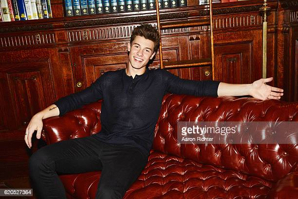 Singer Shawn Mendes is photographed for Billboard Magazine on July 8 2016 in New York City