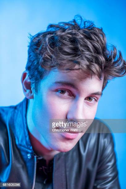 Singer Shawn Mendes poses for a portrait at the 2017 Juno Awards for The Globe and Mail on April 1 2017 in Ottawa Ontario