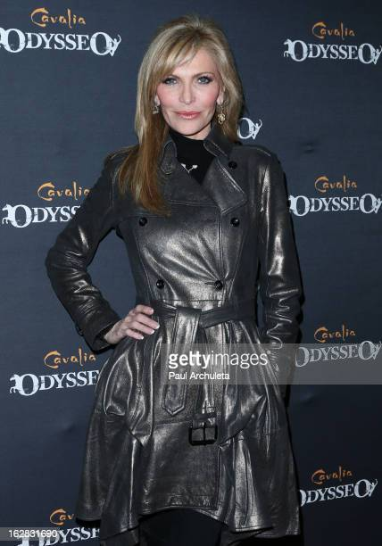 Singer Shawn Southwick attends the opening night for Cavalia's 'Odysseo' at the Cavalia's Odysseo Village on February 27 2013 in Burbank California