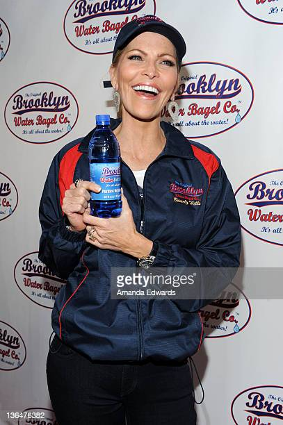 Singer Shawn Southwick King arrives at the grand opening celebration of The Original Brooklyn Water Bagel Company on March 17 2011 in Beverly Hills...