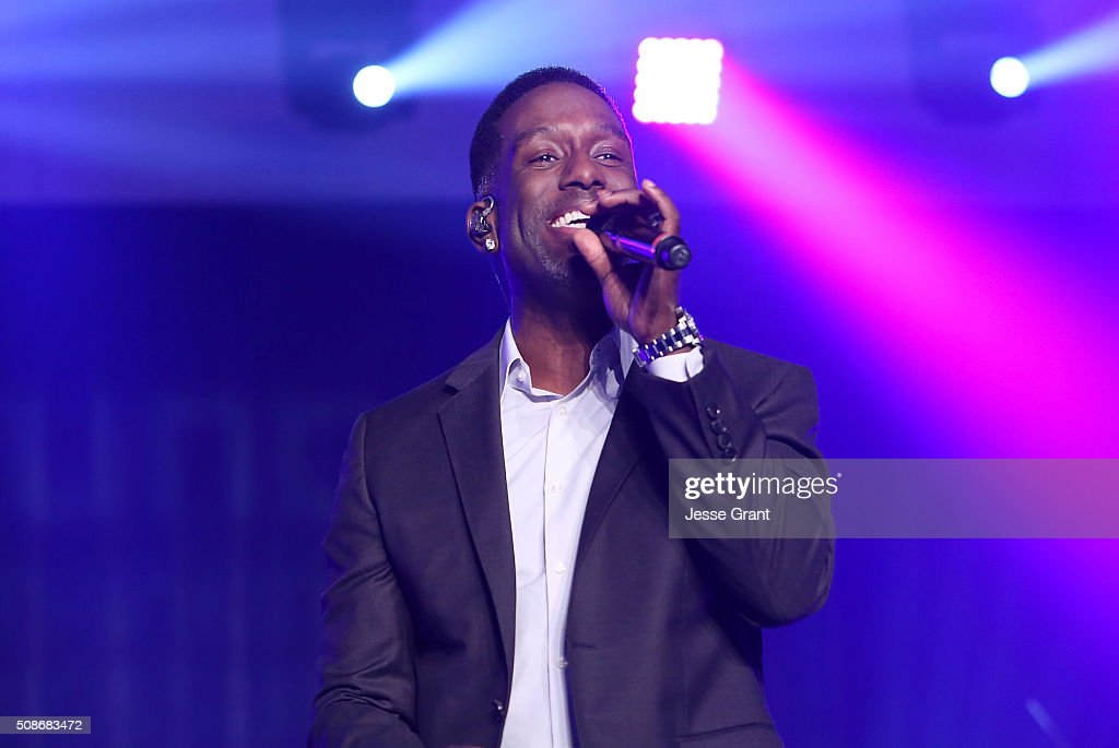 Singer Shawn Stockman of Boyz II Men performs during the 47th NAACP Image Awards Presented By TV One After Party at the Pasadena Civic Auditorium on February 5, 2016 in Pasadena, California.