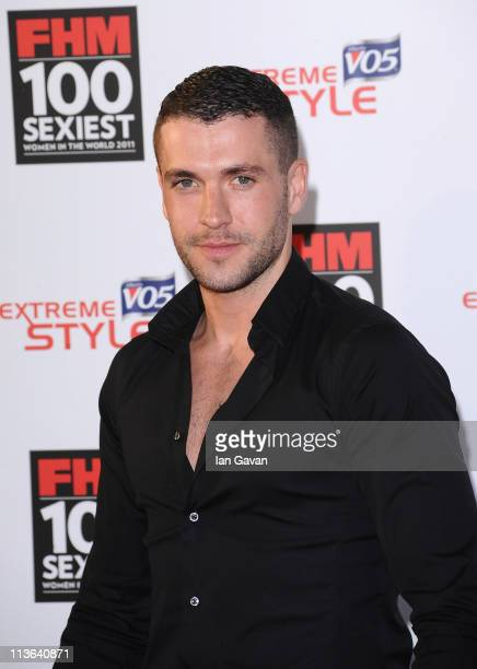 Singer Shayne Ward attends the FHM 100 Sexiest Women In The World Launch Party at One Marylebone on May 4 2011 in London United Kingdom
