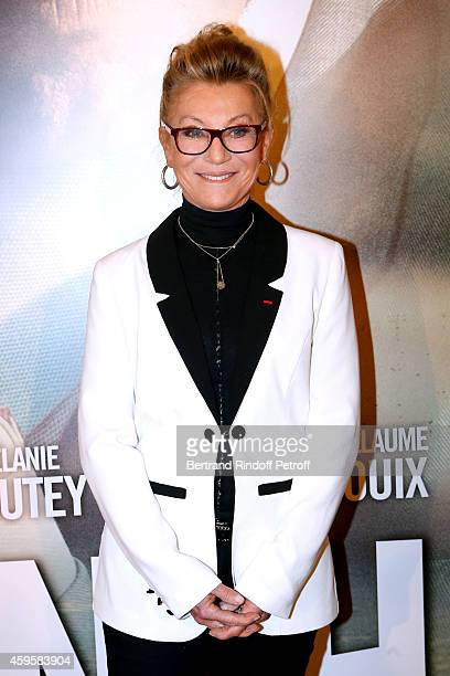 Singer Sheila attends the 'La French' Paris Premiere Held at Cinema Gaumont Capucine on November 25 2014 in Paris France