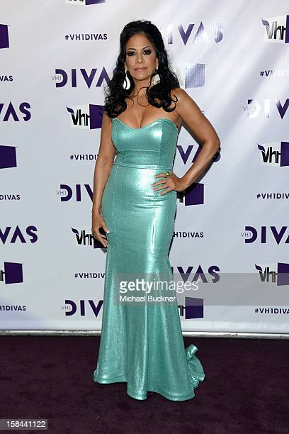 Singer Sheila E attends VH1 Divas 2012 at The Shrine Auditorium on December 16 2012 in Los Angeles California