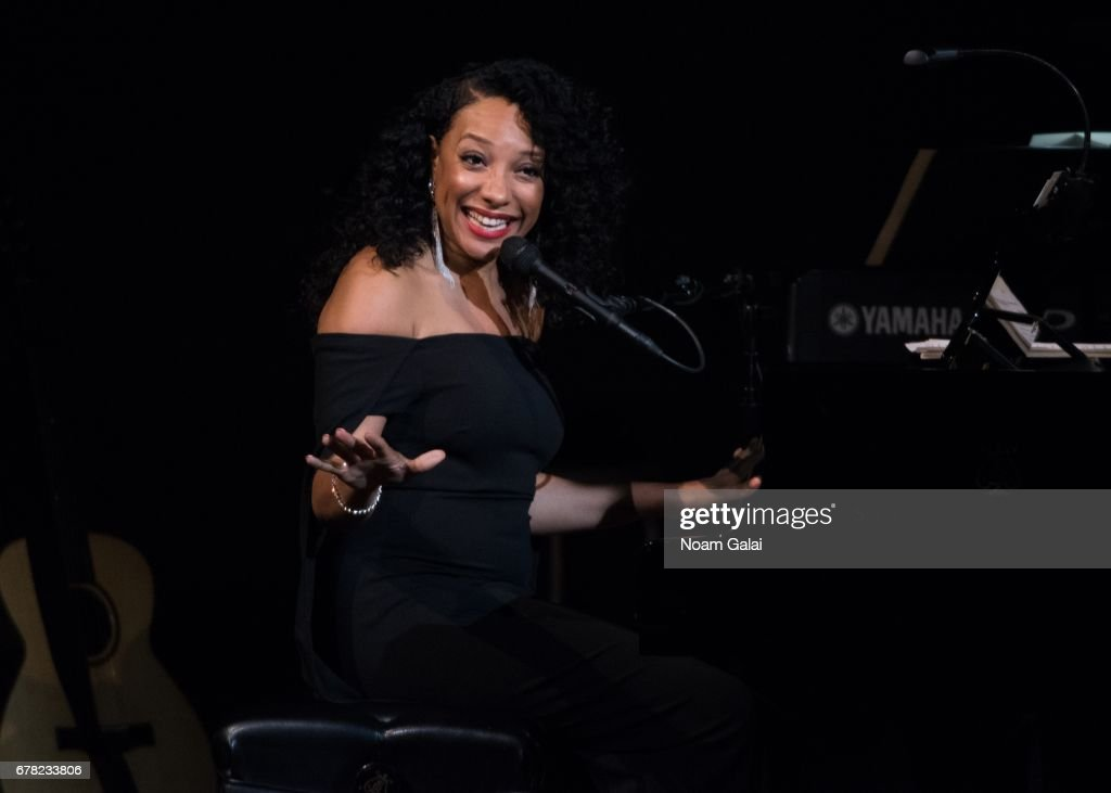 Singer Shelea performs during a tribute concert honoring Jimmy Webb at Carnegie Hall on May 3, 2017 in New York City.
