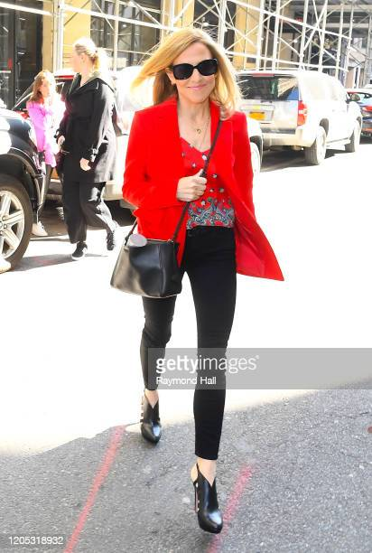 Singer Sheryl Crow is sen in midtown on March 5 2020 in New York City