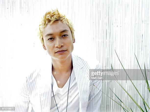 Singer Shingo Katori poses for a portrait during the Cannes Film Festival