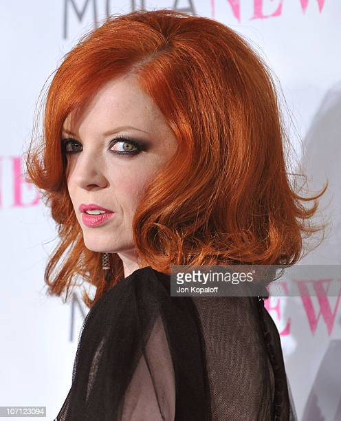 Singer Shirley Manson arrives at The MOCA New 30th Anniversary Gala at MOCA Grand Avenue on November 14 2009 in Los Angeles California