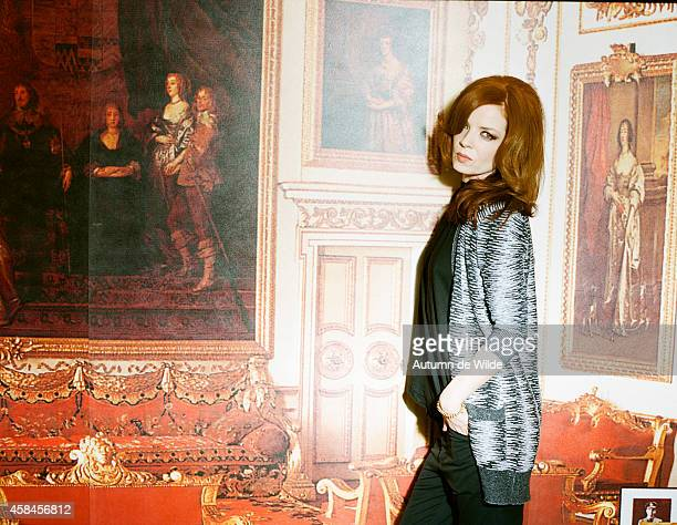 Singer Shirley Manson is photographed for Elle Magazine on February 1 2009 in Los Angeles California