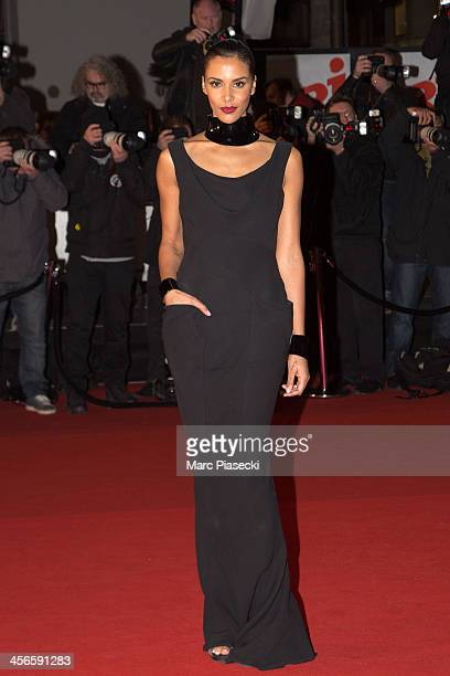 Singer Shy'm attends the 15th NRJ Music Awards at Palais des Festivals on December 14 2013 in Cannes France