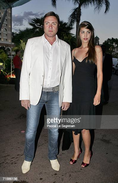 Singer Simon Le Bon of Duran Duran and daughter Amber arrive at the Monaco Red Cross Ball under the Presidency of HSH Prince Albert II in the Salles...