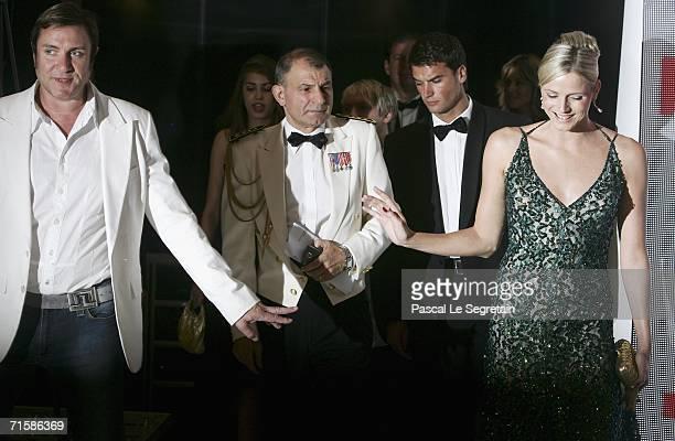 Singer Simon Le Bon of Duran Duran and former swimmer Charlene Wittstock attend the Monaco Red Cross Ball under the Presidency of HSH Prince Albert...