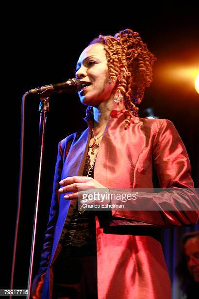 """Singer Simone Simone attends """"Dr. Nina Simone's 75th Birthday Celebration"""" at Canal Room on February 21, 2008 in New York City."""