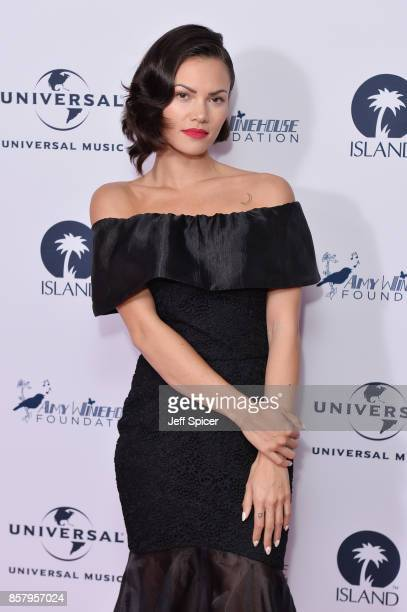 Singer Sinead Harnett attends the Amy Winehouse Foundation Gala at The Dorchester on October 5 2017 in London England