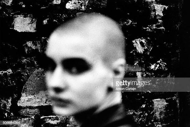 Singer Sinead O'Connor is photographed for Self Assignment in 1988 in Dublin, Ireland.
