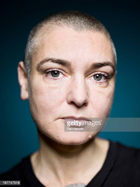 Singer Sinead O'Connor is photographed for the Independent on December 18 2012 in London England