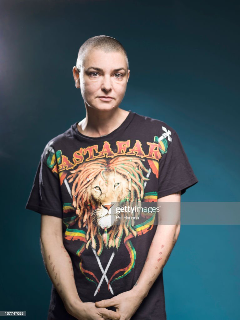 Singer Sinead O'Connor is photographed for the Independent on December 18, 2012 in London, England.