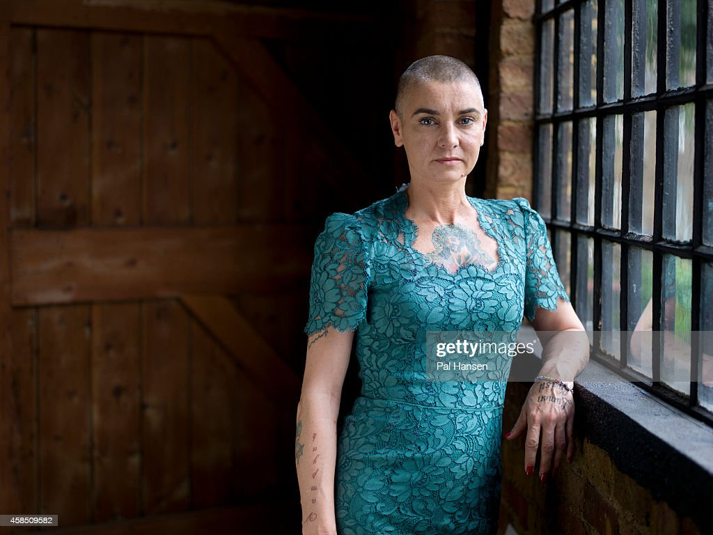 Singer Sinead O'Connor is photographed for the Observer on July 9, 2014 in London, England.