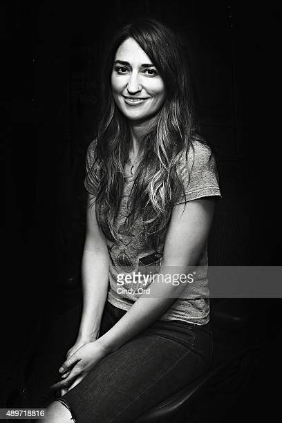 Singer Singer Sara Bareilles visits the SiriusXM Studios on September 23 2015 in New York City