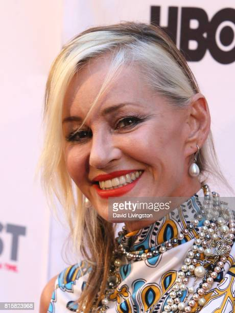 Singer Siobhan Fahey attends the 2017 Outfest Los Angeles LGBT Film Festival closing night gala screening of 'Freak Show' at The Theatre at Ace Hotel...