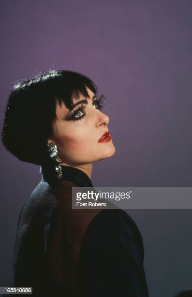 Singer Siouxsie Sioux of English rock group Siouxsie and the Banshees New York City 28th October 1988