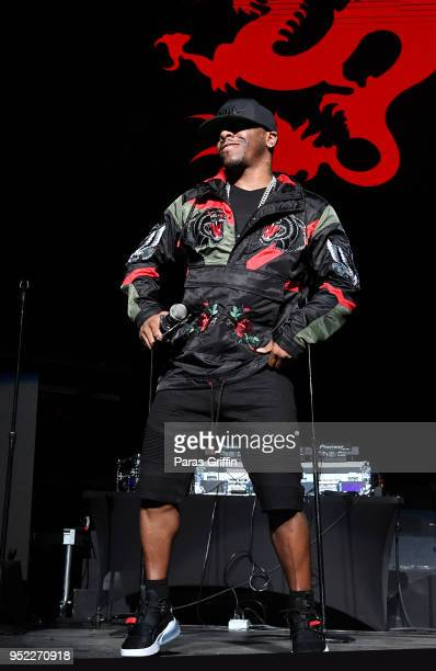 Singer Sisqo performs in concert during 90's Block Party at Fox Theater on April 27 2018 in Atlanta Georgia