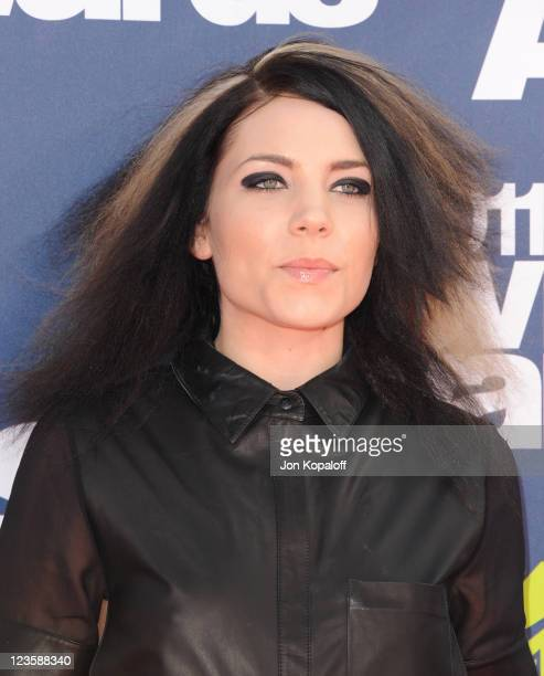 Singer Skylar Grey arrives at the 2011 MTV Movie Awards at Gibson Amphitheatre on June 5 2011 in Universal City California