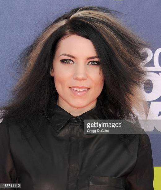 Singer Skylar Grey arrives at the 2011 MTV Movie Awards at the Gibson Amphitheatre on June 5 2011 in Universal City California