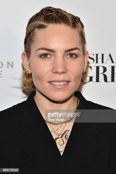 Singer Skylar Grey attends E 'Fashion Police' and NYLON kickoff New York Fashion Week with a 50 Shades of Fashion event in celebration of the release...