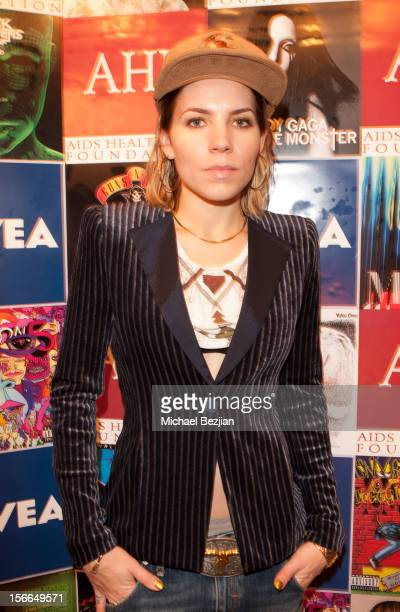 Singer Skylar Grey attends Nivea Kiss Lounge For AMA Weekend Inside Day 1 on November 17 2012 in Los Angeles California