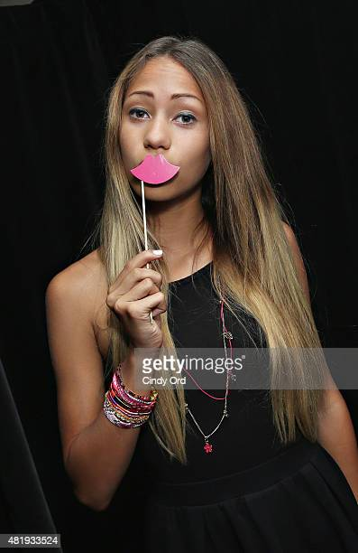 Singer Skylar Stecker attends the Bratz Launch Event at Toys'R'Us Times Square on July 25 2015 in New York City